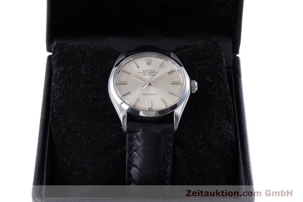 Used luxury watch Rolex Air King steel automatic Kal. 1520 Ref. 5500  | 153234 07