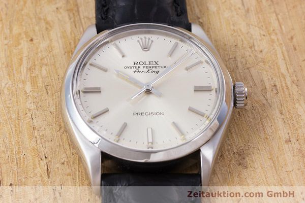 Used luxury watch Rolex Air King steel automatic Kal. 1520 Ref. 5500  | 153234 15