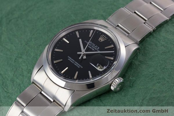 Used luxury watch Rolex Date steel automatic Kal. 1570 Ref. 1500  | 153237 01