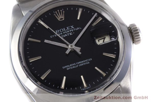 Used luxury watch Rolex Date steel automatic Kal. 1570 Ref. 1500  | 153237 02