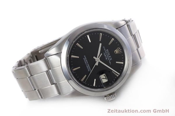Used luxury watch Rolex Date steel automatic Kal. 1570 Ref. 1500  | 153237 03