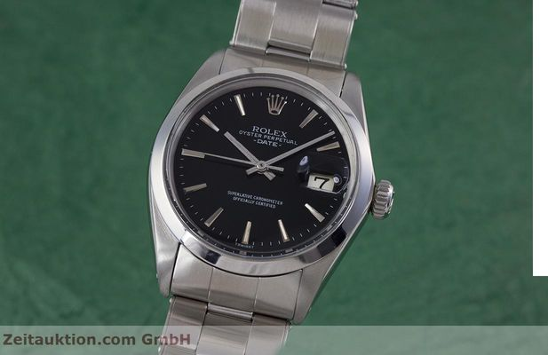 Used luxury watch Rolex Date steel automatic Kal. 1570 Ref. 1500  | 153237 04