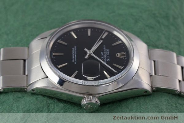 Used luxury watch Rolex Date steel automatic Kal. 1570 Ref. 1500  | 153237 05