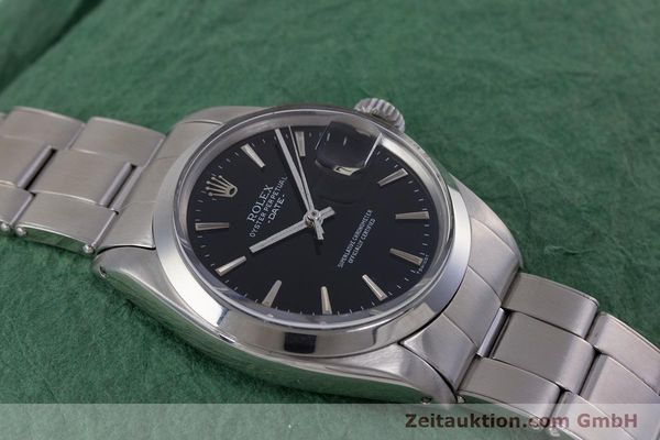 Used luxury watch Rolex Date steel automatic Kal. 1570 Ref. 1500  | 153237 14