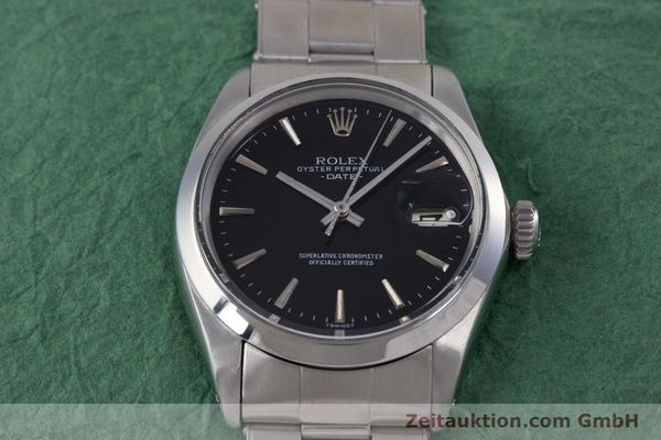 Used luxury watch Rolex Date steel automatic Kal. 1570 Ref. 1500  | 153237 15