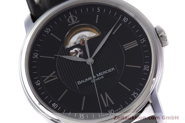 Used luxury watch Baume & Mercier Classima steel automatic Kal. BM112824 Ref. 65558  | 153242 02