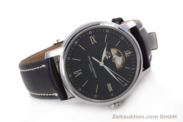 Used luxury watch Baume & Mercier Classima steel automatic Kal. BM112824 Ref. 65558  | 153242 03