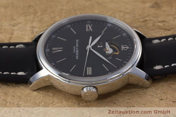 Used luxury watch Baume & Mercier Classima steel automatic Kal. BM112824 Ref. 65558  | 153242 05