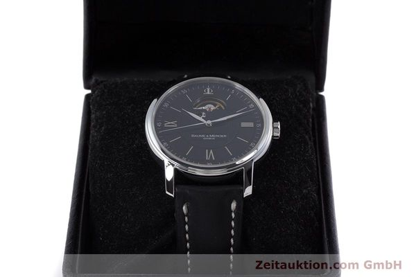 Used luxury watch Baume & Mercier Classima steel automatic Kal. BM112824 Ref. 65558  | 153242 07