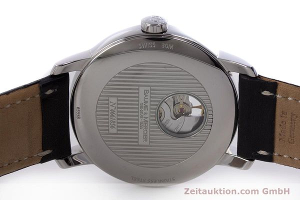Used luxury watch Baume & Mercier Classima steel automatic Kal. BM112824 Ref. 65558  | 153242 09