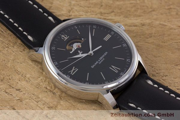 Used luxury watch Baume & Mercier Classima steel automatic Kal. BM112824 Ref. 65558  | 153242 14