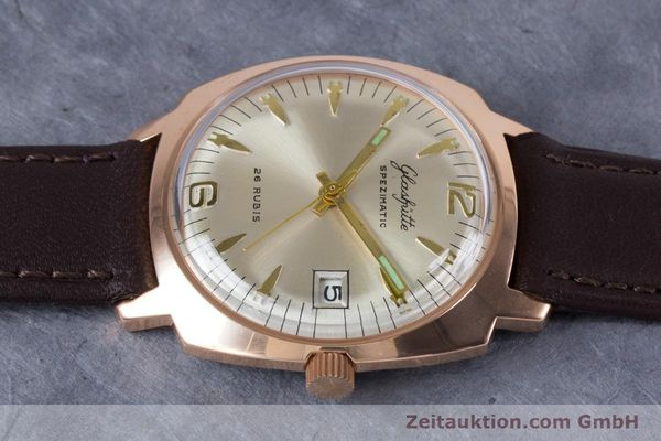 Used luxury watch Glashütte Spezimatic gold-plated automatic Kal. 75  | 153243 05