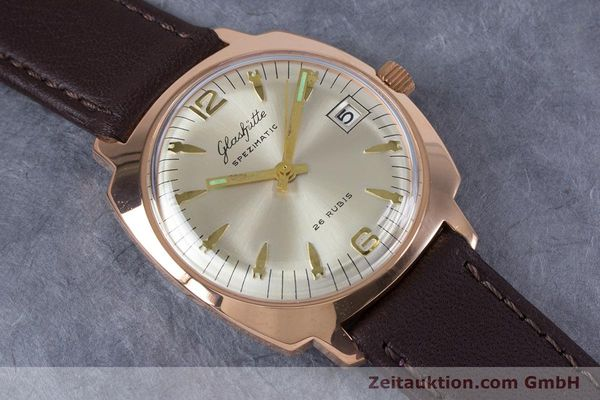 Used luxury watch Glashütte Spezimatic gold-plated automatic Kal. 75  | 153243 12