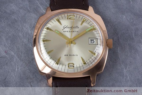 Used luxury watch Glashütte Spezimatic gold-plated automatic Kal. 75  | 153243 13