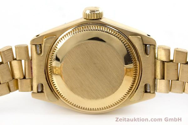 Used luxury watch Rolex Lady Date 18 ct gold automatic Kal. 2030 Ref. 6917  | 153244 08