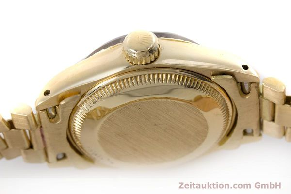 Used luxury watch Rolex Lady Date 18 ct gold automatic Kal. 2030 Ref. 6917  | 153244 11