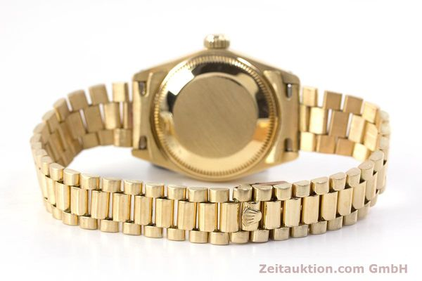 Used luxury watch Rolex Lady Date 18 ct gold automatic Kal. 2030 Ref. 6917  | 153244 12