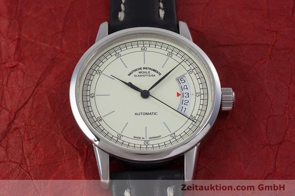 Used luxury watch Mühle Metior steel automatic Kal. ETA 2824 Ref. M1-26-50  | 153249 16
