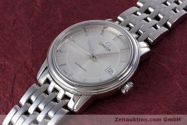 Used luxury watch Omega De Ville steel automatic Kal. 2520 Ref. 45903100  | 153253 01