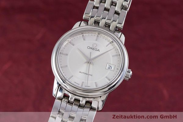 Used luxury watch Omega De Ville steel automatic Kal. 2520 Ref. 45903100  | 153253 04