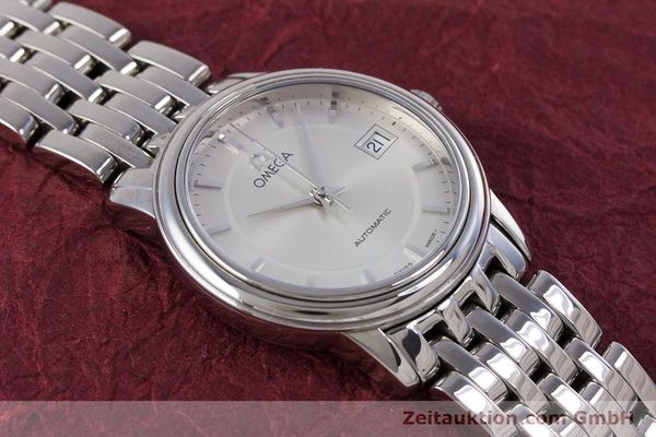 Used luxury watch Omega De Ville steel automatic Kal. 2520 Ref. 45903100  | 153253 15