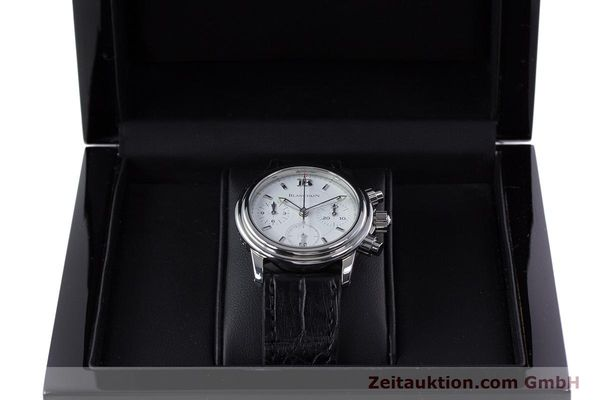 Used luxury watch Blancpain Leman chronograph steel automatic Kal. 1185  | 153255 07