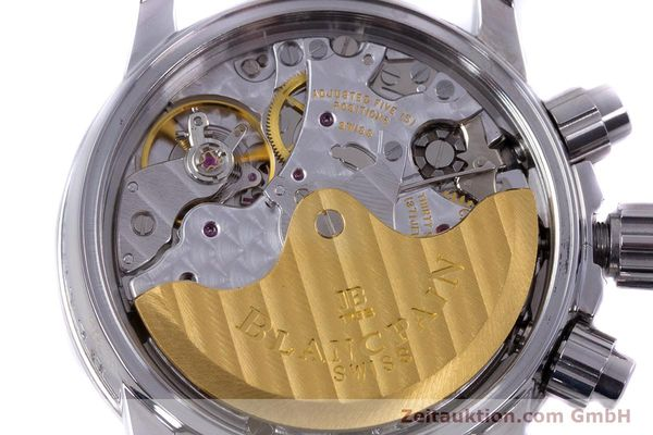 Used luxury watch Blancpain Leman chronograph steel automatic Kal. 1185  | 153255 10
