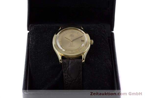 Used luxury watch Omega Speedmaster 18 ct gold automatic Kal. 1110  | 153257 07