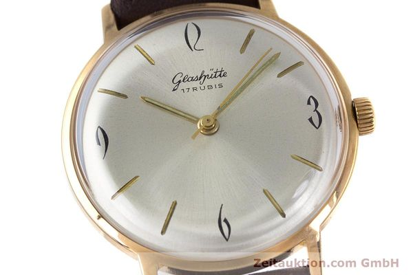 Used luxury watch Glashütte * gold-plated manual winding Kal. 70.1  | 153267 02