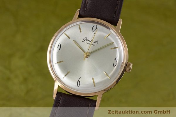 Used luxury watch Glashütte * gold-plated manual winding Kal. 70.1  | 153267 04