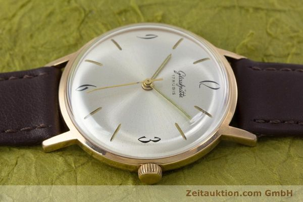 Used luxury watch Glashütte * gold-plated manual winding Kal. 70.1  | 153267 05