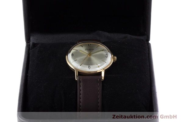 Used luxury watch Glashütte * gold-plated manual winding Kal. 70.1  | 153267 07
