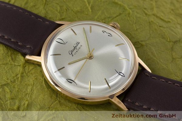 Used luxury watch Glashütte * gold-plated manual winding Kal. 70.1  | 153267 12