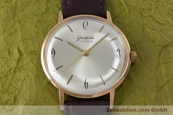 Used luxury watch Glashütte * gold-plated manual winding Kal. 70.1  | 153267 13