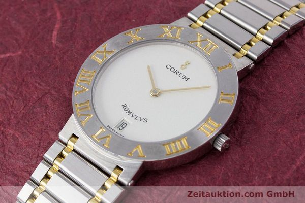 Used luxury watch Corum Romulus steel / gold quartz Kal. ETA 255441 Ref. 43.903.21.V048  | 153277 01
