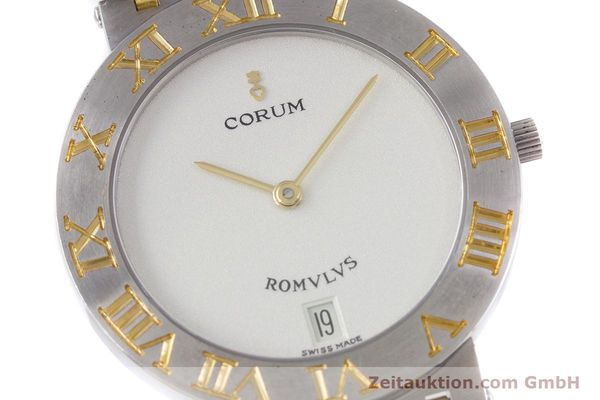 Used luxury watch Corum Romulus steel / gold quartz Kal. ETA 255441 Ref. 43.903.21.V048  | 153277 02