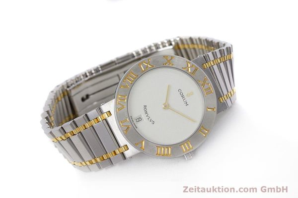 Used luxury watch Corum Romulus steel / gold quartz Kal. ETA 255441 Ref. 43.903.21.V048  | 153277 03