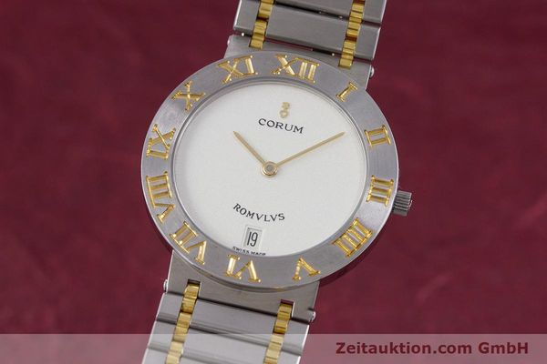 Used luxury watch Corum Romulus steel / gold quartz Kal. ETA 255441 Ref. 43.903.21.V048  | 153277 04