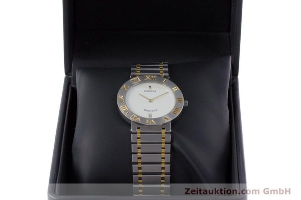 Used luxury watch Corum Romulus steel / gold quartz Kal. ETA 255441 Ref. 43.903.21.V048  | 153277 07