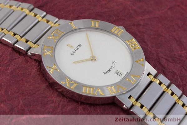 Used luxury watch Corum Romulus steel / gold quartz Kal. ETA 255441 Ref. 43.903.21.V048  | 153277 13