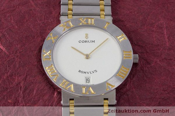 Used luxury watch Corum Romulus steel / gold quartz Kal. ETA 255441 Ref. 43.903.21.V048  | 153277 14