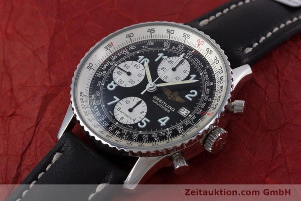 Used luxury watch Breitling Navitimer chronograph steel automatic Kal. Valj.  7750 Ref. 81610  | 153278 01