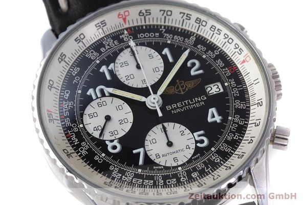 Used luxury watch Breitling Navitimer chronograph steel automatic Kal. Valj.  7750 Ref. 81610  | 153278 02
