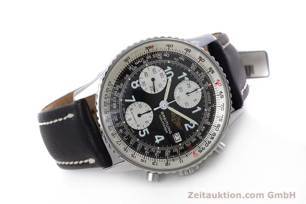 Used luxury watch Breitling Navitimer chronograph steel automatic Kal. Valj.  7750 Ref. 81610  | 153278 03