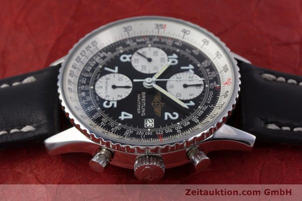 Used luxury watch Breitling Navitimer chronograph steel automatic Kal. Valj.  7750 Ref. 81610  | 153278 05