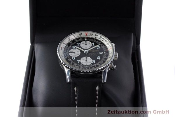 Used luxury watch Breitling Navitimer chronograph steel automatic Kal. Valj.  7750 Ref. 81610  | 153278 07