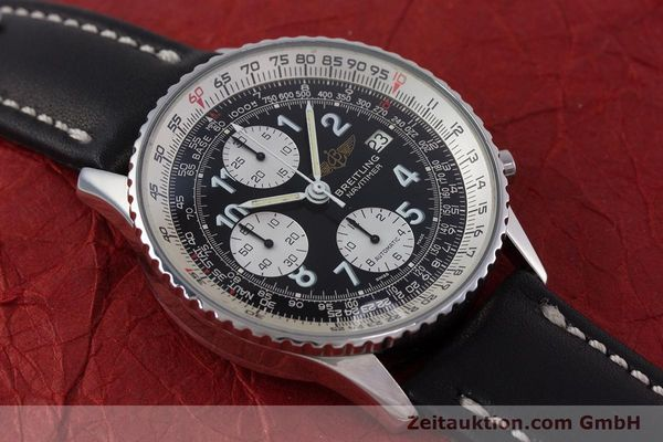 Used luxury watch Breitling Navitimer chronograph steel automatic Kal. Valj.  7750 Ref. 81610  | 153278 12