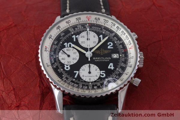 Used luxury watch Breitling Navitimer chronograph steel automatic Kal. Valj.  7750 Ref. 81610  | 153278 13