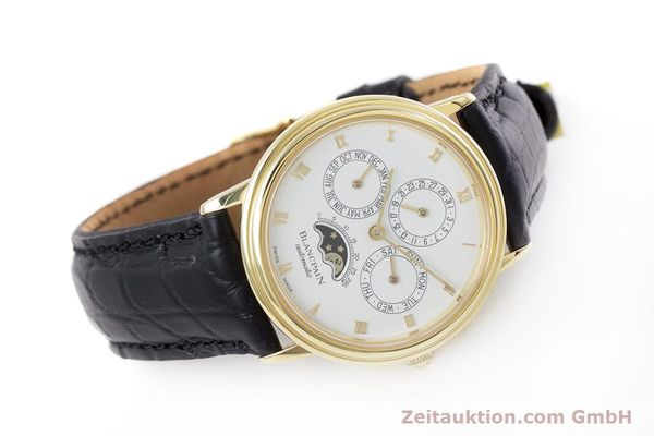 Used luxury watch Blancpain Villeret 18 ct gold automatic Kal. 95  | 153286 03