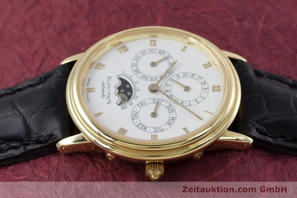 Used luxury watch Blancpain Villeret 18 ct gold automatic Kal. 95  | 153286 05